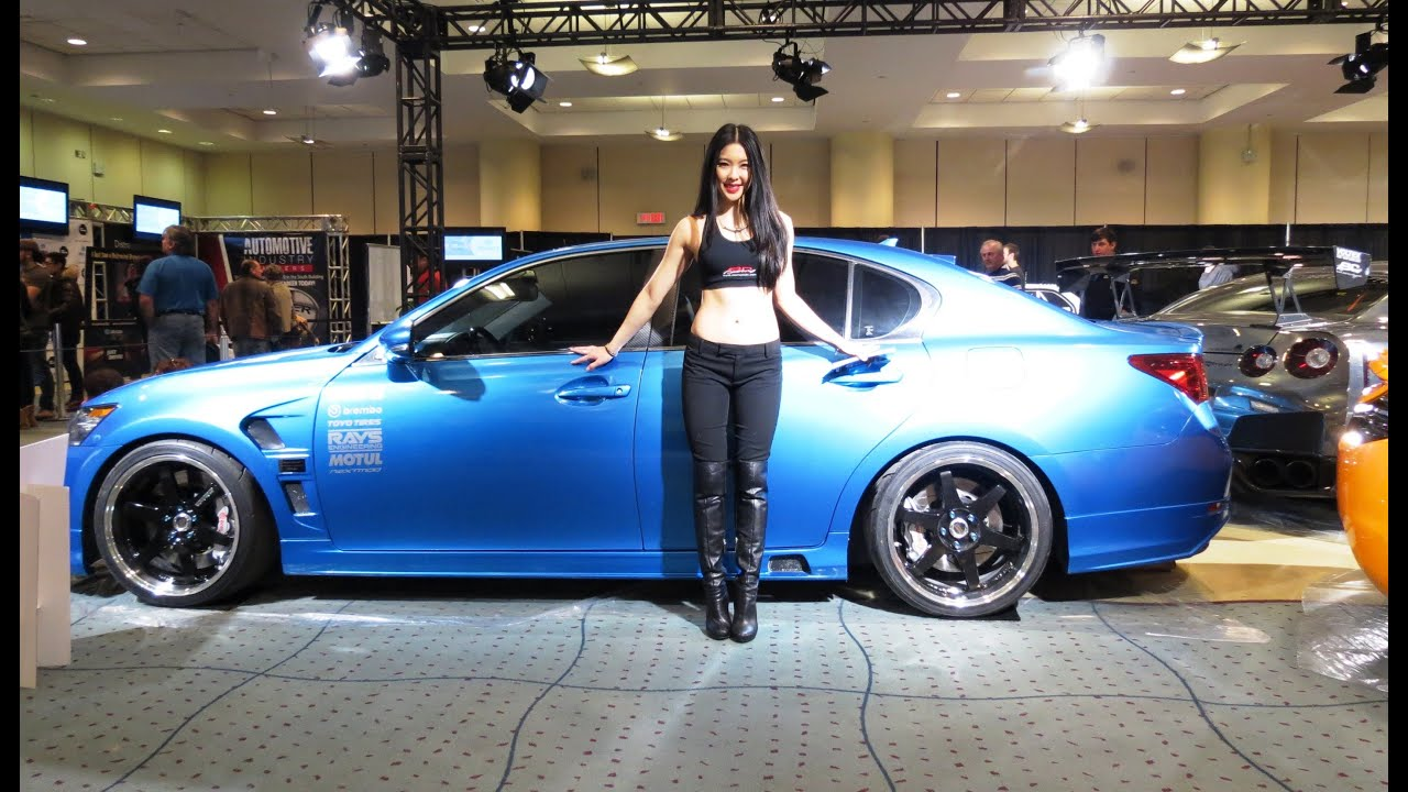 2012 Lexus GS 350 Custom At The 2014 CIAS Canadian Auto Show In Torornto    YouTube