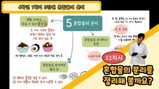[4학년 과학, 무료인강] 4학년 1학기 5단원 11차…
