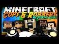 Minecraft: MODDED COPS & ROBBERS w/ Portal Gun Mod! (Mini-Game)