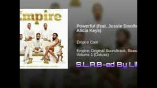 Powerful feat Jussie Smollett and Alicia Keys (S.L.A.B-ed By Lil