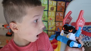 Twin vs Twin:  Mibro Prank Competition! Fun Family Toy for Kids