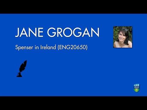 Spenser in Ireland (ENG20650) - Jane Grogan
