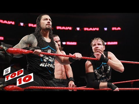 Top 10 Raw moments: WWE Top 10, December 4, 2017