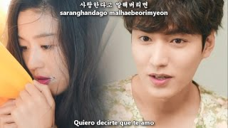 Ha Hyun Woo (하현우) - Shy Boy [Sub Español + Hangul + Rom] The Legend of the Blue Sea OST Part 4