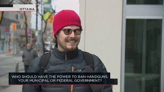 Who should have the power to ban handguns, your municipal or federal government? | Outburst