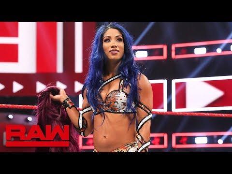 Sasha Banks returns to WWE: Raw, Aug. 12, 2019 - Видео онлайн