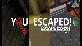 Roblox Escape Room Prison Break Walkthrough 2019