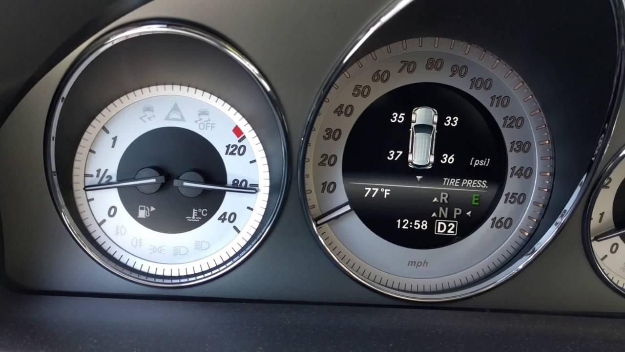 Mercedes benz glk 350 tpms bad tire pressure sensor by for Mercedes benz tire pressure sensor