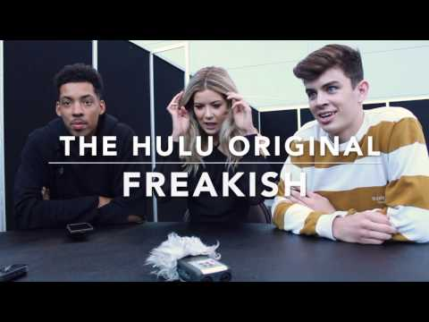 Melvin Gregg Meghan Rienks and Hayes Greir Freakish Interview