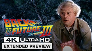 Back to the Future Part III | Opening Scene in 4K Ultra HD | Doc Brown Sees His Own Grave