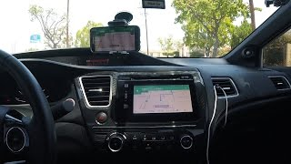 How to display Android Phone on Honda Display - How to Bypass E-brake