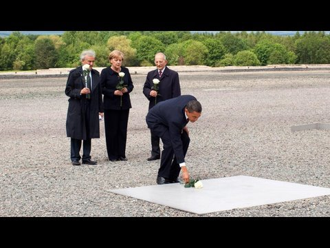 President Obama Visits Buchenwald Concentration Camp