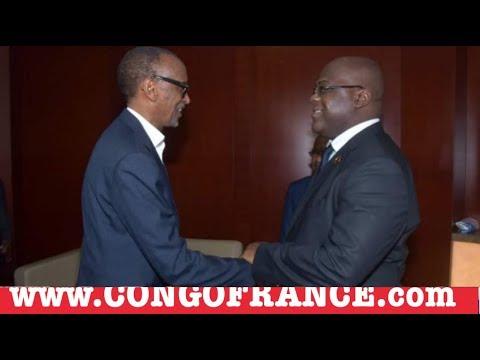 INFO En Direct 11 02 2019 FELIX TSHISEKEDI face à face PAUL KAGAME, Fayulu propose les élections