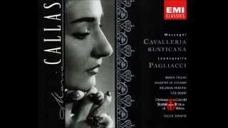 Maria Callas, Mascagni Cavalleria Rusticana, Tullio Serafin, 1954