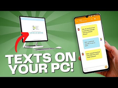 Transfer Text Messages From Android To Computer