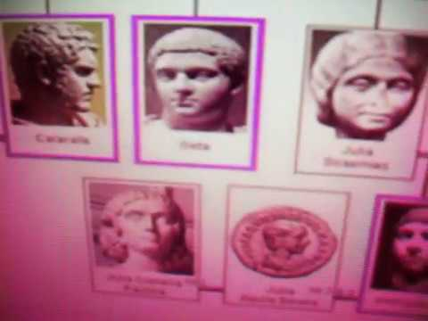 Roman Emperors Getty Brian Cox Souter Gaultier & Dawnay castrations Clovis Louis B Connelly Atkinson