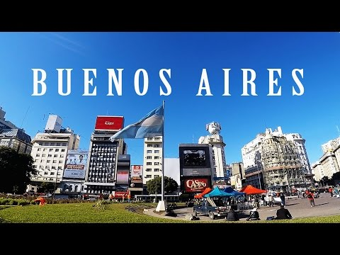 VLOG TRAVEL GUIDE  BUENOS AIRES ARGENTINA