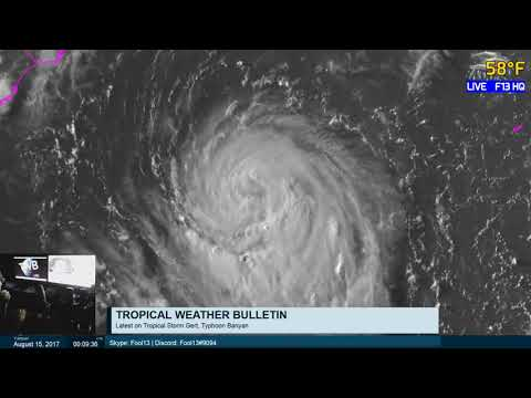 Tropical Weather Bulletin Live - August 15, 2017