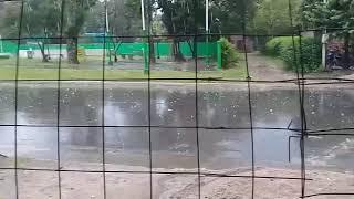 La lluvia y el granizo sorprendió a los vecinos de San Rafael, al norte de Famaillá