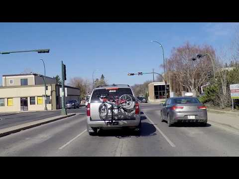 Driving In Lethbridge Alberta Canada - North Part Of City - Life/Houses/Homes/Real Estate