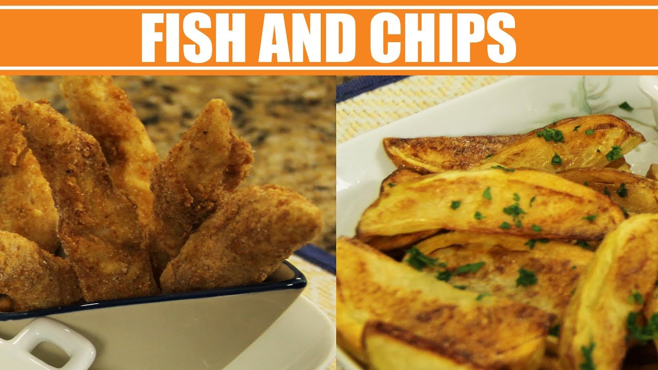 Receita de fish and chips web milanesa youtube for How to make fish and chips