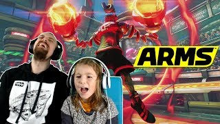 SPRINGTRON - NEUER KÄMPFER | Nintendo Switch Arms Springtron Gameplay Deutsch | EgoWhity