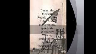 Imperialism project on United States Invasion into Mexico