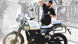 Best Way To Wash You Bike At Home | Do It Yourself | Foam Wash | Diesel wash | Insideout India |