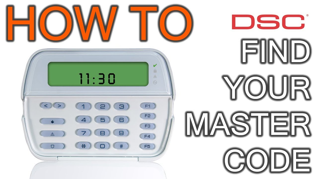 How to Find Master Code in DSC Keypad