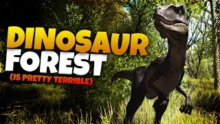 FIGHT RAPTORS WITH A SWORD? | Dinosaur Forest