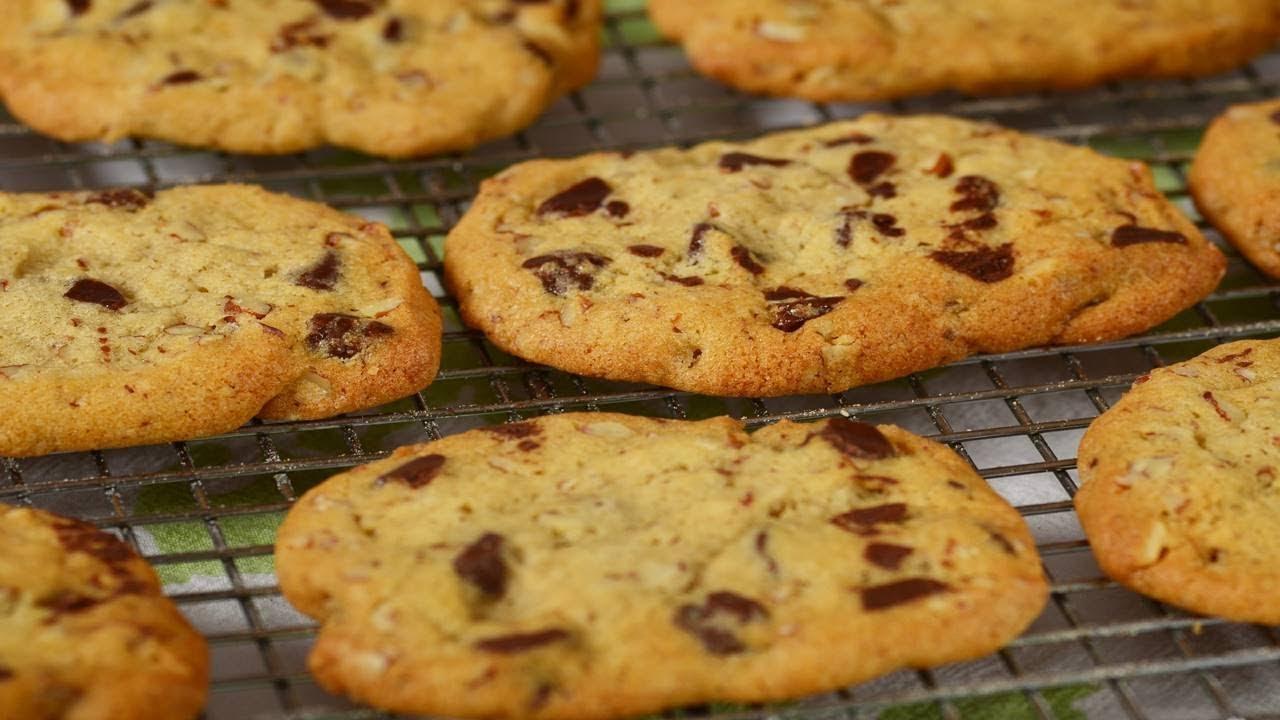 Chocolate Chip Refrigerator Cookies Recipe Demonstration Joyofbaking Com