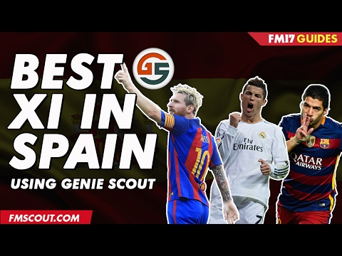 Best XI In Spain Using Genie Scout - Football Manager 2017