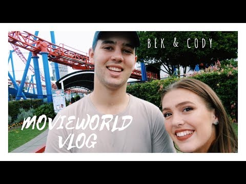 WARNER BROS MOVIEWORLD VLOG // Bek & Cody