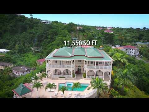 Morne Daniel Mansion - FOR SALE IN DOMINICA