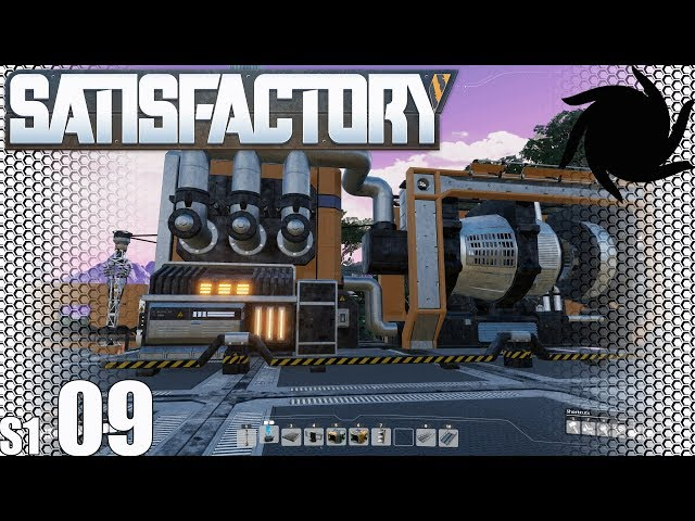 Satisfactory   S01E09   Coal Power