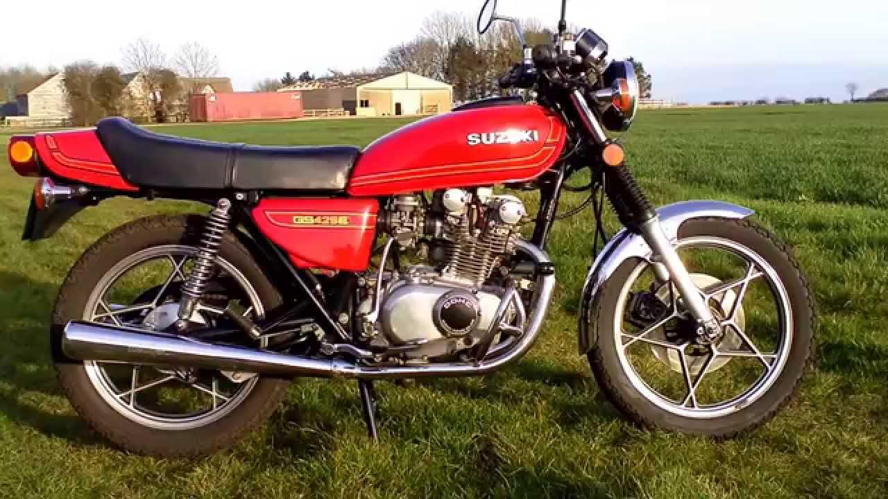 1979 Suzuki GS425 EN UK Spec