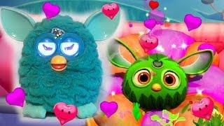 Ферби Коннект #2 Furby Connect World Ищем Ферби друзей мультик игра видео детей виртуальный питомец