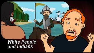 Louis CK - Animiert: Weißen und Indianern