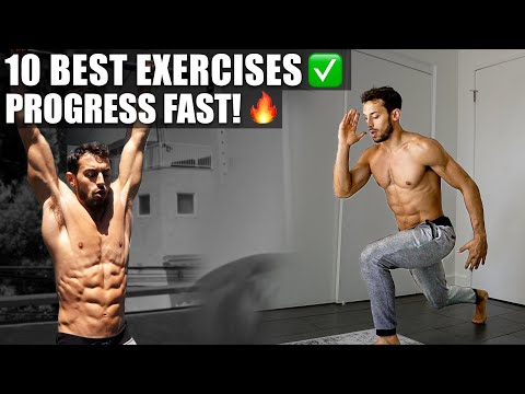 Best Calisthenics Exercises For Beginners (at home, no equipment)