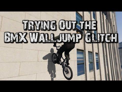 GTA V Trying Out The BMX Walljump Glitch [Mini Montage]