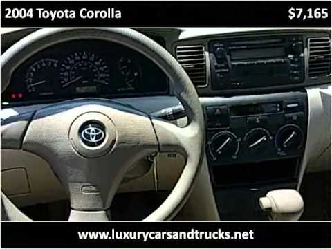 2004 Toyota Corolla Used Cars Port St. Lucie FL
