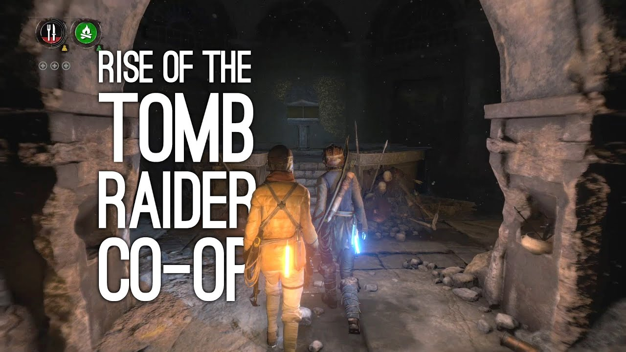 Rise Of The Tomb Raider Co Op Gameplay Let S Play Rise Of The Tomb Raider Co Op Endurance Mode Youtube