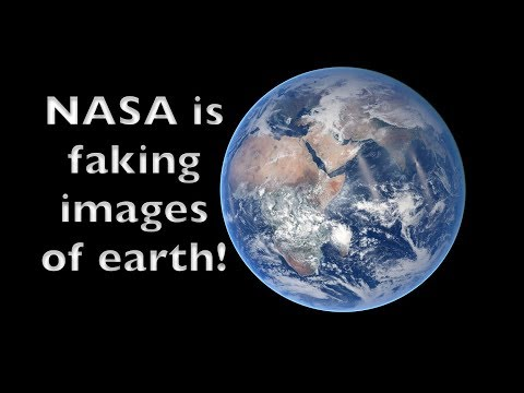 Is NASA faking photos from space to hide the flat earth?