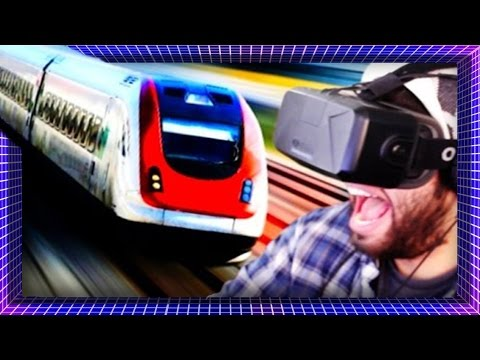 Hit By A Train In VIRTUAL REALITY! | I