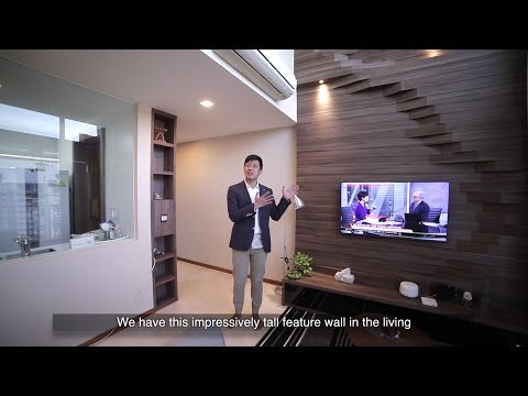 Singapore Condo Property Listing Video - River Isles Penthouse