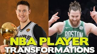 What did they look like? NBA players transformations