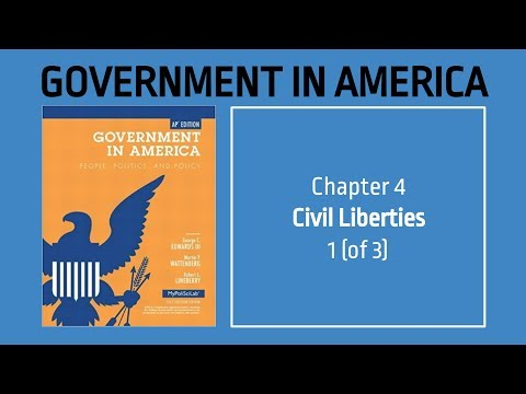 AP US Government - Chapter 4 - Civil Liberties - 1 (of 3)