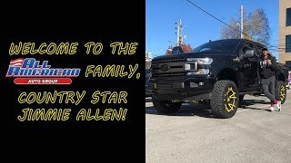 Jimmie Allen Custom Truck Build Video