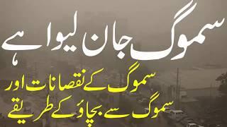 Smog Kia Hay Smog Ke Nuqsanat Aur Iss Se Bachne Ke Tareekay | سموگ کیا ہے ؟ اس کے نقصان سے کیسے بچیں