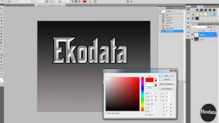 How  create a mafia style text effect  in Photoshop CS 5 4 3 2(HD with voice)